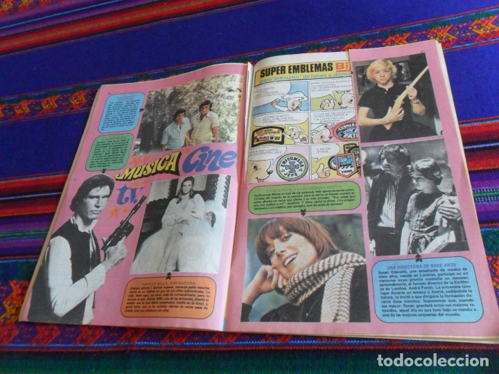 Tebeos: STAR WARS CON MARK HAMILL LILY 855 CON Nº 0 GINA 851 1095 EXTRA PRIMAVERA 1978. REGALO SUPER LILY 28 - Foto 5 - 173500858