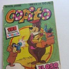 Tebeos: COPITO Nº 24 . BRUGUERA 100 PGINAS HANNA BARBERA CX19. Lote 173502625