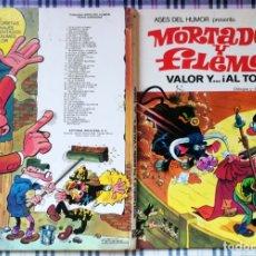 Tebeos: ASES DEL HUMOR BRUGUERA 2ª EDICIÓN - Nº 4 - VALOR Y AL TORO - SALDO. Lote 173509400
