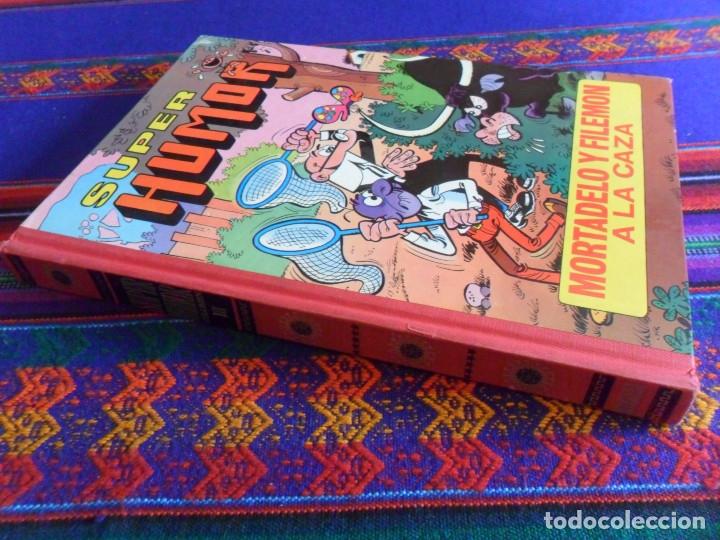SUPER HUMOR Nº III CUARTA 4ª EDICIÓN BRUGUERA 1981. MORTADELO Y FILEMÓN A LA CAZA. (Tebeos y Comics - Bruguera - Super Humor)