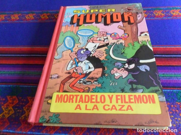 Tebeos: SUPER HUMOR Nº III CUARTA 4ª EDICIÓN BRUGUERA 1981. MORTADELO Y FILEMÓN A LA CAZA. - Foto 2 - 173518870