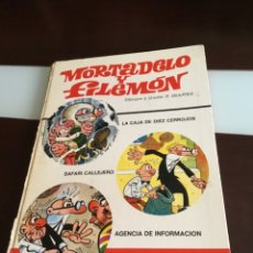 Tebeos: RAREZA TRIPLE MORTADELO PRIMERA EDICIÓN 1972 . Lote 173520323