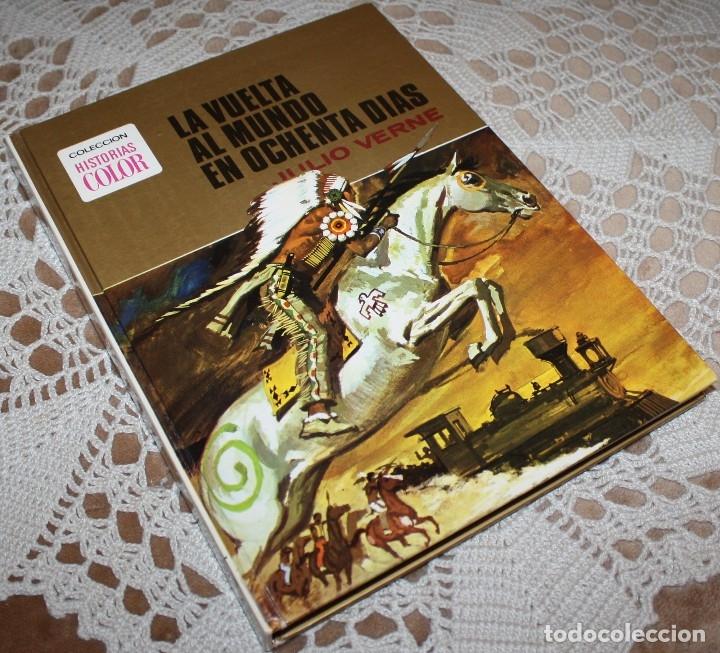 Tebeos: JULIO VERNE LIBRO Y COMICS LOTE - Foto 2 - 173550834