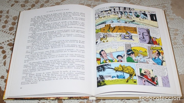 Tebeos: JULIO VERNE LIBRO Y COMICS LOTE - Foto 3 - 173550834