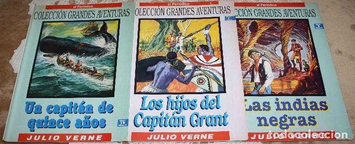 Tebeos: JULIO VERNE LIBRO Y COMICS LOTE - Foto 5 - 173550834