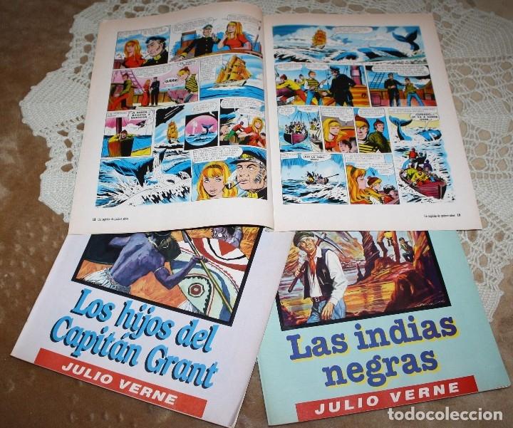 Tebeos: JULIO VERNE LIBRO Y COMICS LOTE - Foto 6 - 173550834