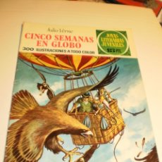 Livros de Banda Desenhada: JULIO VERNE. CINCO SEMANAS EN GLOBO 1972 JOYAS LITERARIAS JUVENILES 62 (ESTADO NORMAL). Lote 173606818