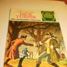 Livros de Banda Desenhada: CH. C. HARRISON. DICK TURPIN. 1971 JOYAS LITERARIAS JUVENILES 38 (ESTADO NORMAL). Lote 173607308