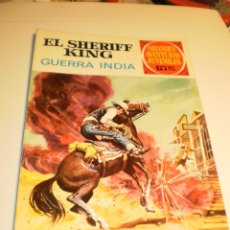 Tebeos: EL SHERIFF KING. GUERRA INDIA 1972 Nº 27 (ESTADO NORMAL). Lote 173607822