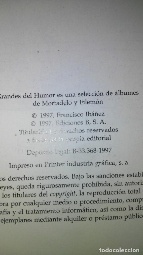 Tebeos: Dos libros de Mortadelo y Filemón - Foto 17 - 173647100