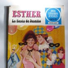 Tebeos: ESTHER Nº10 - JOYAS LITERARIAS JUVENILES. Lote 173649168
