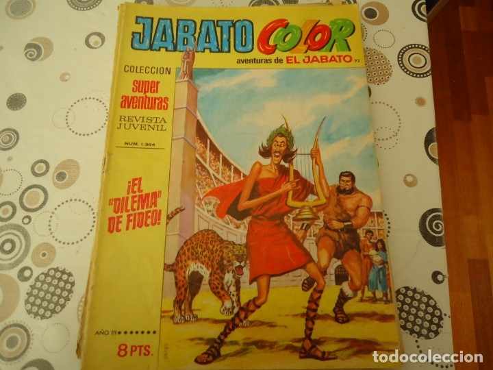 JABATO COLOR PRIMERA EPOCA Nº 92 EL DILEMA DE FIDEO (Tebeos y Comics - Bruguera - Jabato)