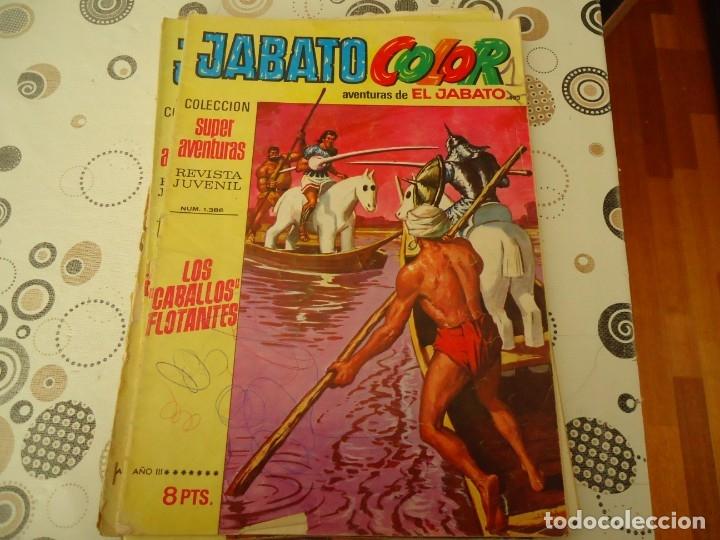 JABATO COLOR PRIMERA EPOCA Nº 103 LOS CABALLOS FLOTANTES (Tebeos y Comics - Bruguera - Jabato)