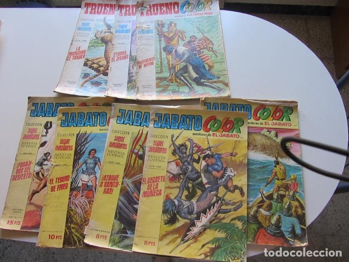 LOTE 8 Nº TRUENO Y JABATO COLOR BRUGUERA SON LOS DE LA FOTO CX19 (Tebeos y Comics - Bruguera - Capitán Trueno)