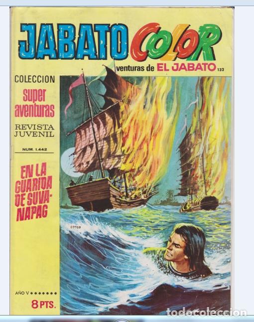 JABATO COLOR NUMERO 132 (Tebeos y Comics - Bruguera - Jabato)
