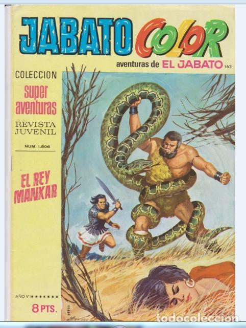JABATO COLOR NUMERO 163 (Tebeos y Comics - Bruguera - Jabato)