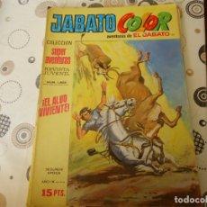 Tebeos: JABATO COLOR SEGUNDA EPOCA Nº 99 EL ALUD VIVIENTE. Lote 173811942