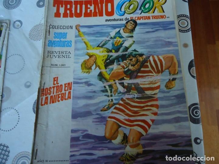 TRUENO COLOR PRIMERA EPOCA Nº 99 EL ROSTRO EN LA NIEBLA (Tebeos y Comics - Bruguera - Capitán Trueno)