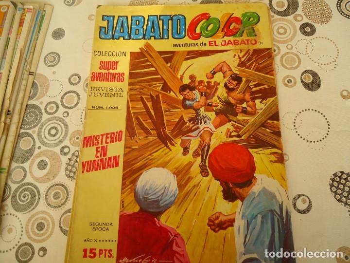 JABATO COLOR SEGUNDA EPOCA Nº 151 MISTERIO EN YUNNAN (Tebeos y Comics - Bruguera - Jabato)