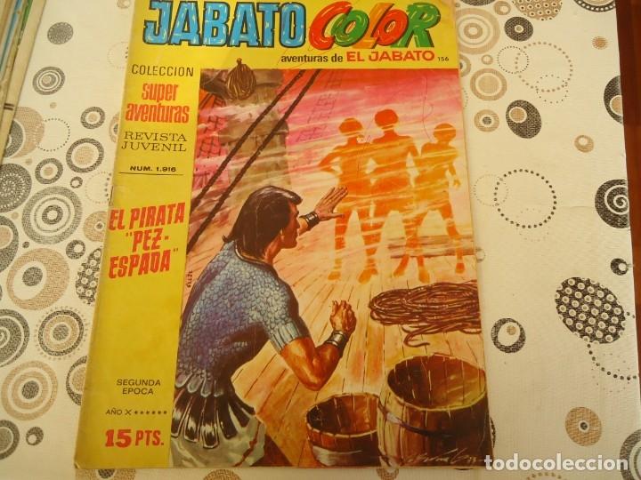 JABATO COLOR SEGUNDA EPOCA Nº 156 EL PIRATA PEZ ESPADA (Tebeos y Comics - Bruguera - Jabato)
