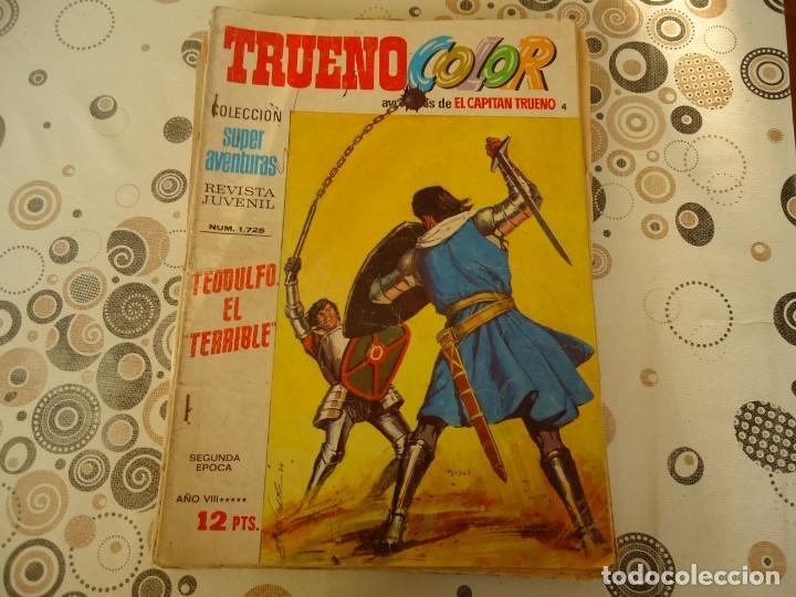 TRUENO COLOR SEGUNDA EPOCA Nº 4 TEODULFO EL TERRIBLE (Tebeos y Comics - Bruguera - Capitán Trueno)