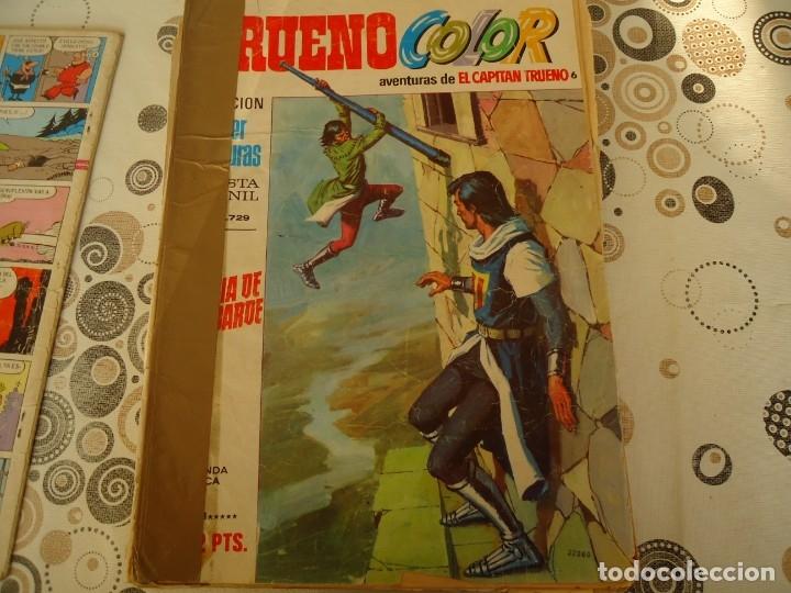 TRUENO COLOR SEGUNDA EPOCA Nº 6 HISTORIA DE UN COBARDE (Tebeos y Comics - Bruguera - Capitán Trueno)