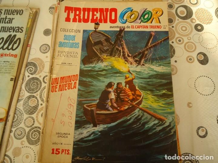 TRUENO COLOR SEGUNDA EPOCA Nº 50 UN MUNDO DE NIEBLA (Tebeos y Comics - Bruguera - Capitán Trueno)