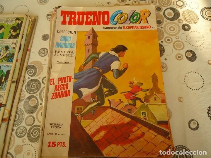 TRUENO COLOR SEGUNDA EPOCA Nº 57 EL PINTORESCO ZORRINI (Tebeos y Comics - Bruguera - Capitán Trueno)
