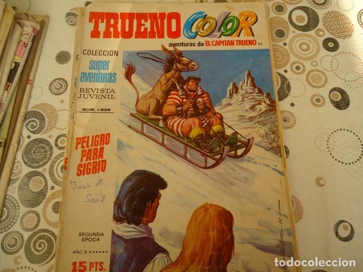 TRUENO COLOR SEGUNDA EPOCA Nº 94 PELIGRO PARA SIGRID (Tebeos y Comics - Bruguera - Capitán Trueno)