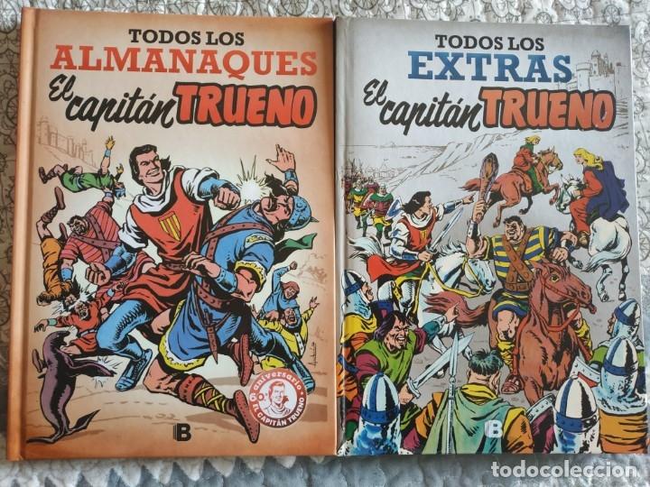 CAPITÁN TRUENO: EXTRAS Y ALMANAQUES. (Tebeos y Comics - Bruguera - Capitán Trueno)