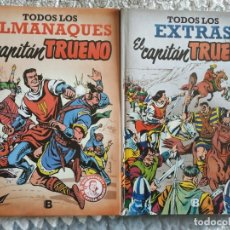Tebeos: CAPITÁN TRUENO: EXTRAS Y ALMANAQUES.. Lote 173860868