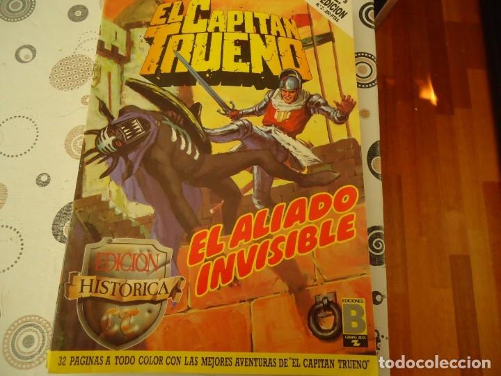 EL CAPITAN TRUENO EDICION HISTORICA Nº 2 EL ALIADO INVISIBLE (Tebeos y Comics - Bruguera - Capitán Trueno)