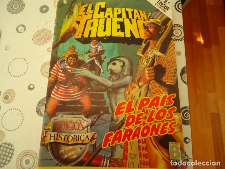 EL CAPITAN TRUENO EDICION HISTORICA Nº 5 EL PAIS DE LOS FARAONES (Tebeos y Comics - Bruguera - Capitán Trueno)