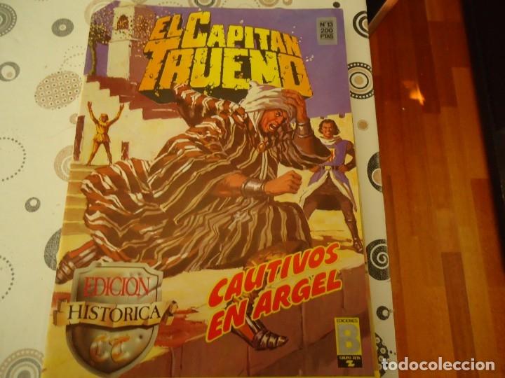 EL CAPITAN TRUENO EDICION HISTORICA Nº 13 CAUTIVOS EN ARGEL (Tebeos y Comics - Bruguera - Capitán Trueno)