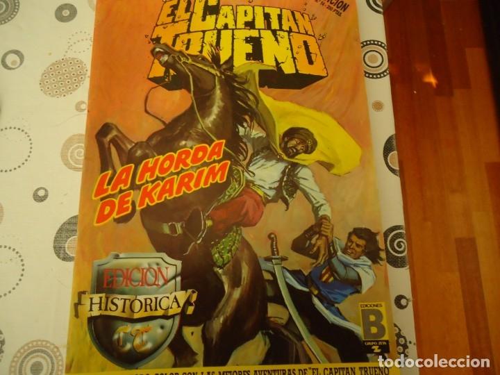 EL CAPITAN TRUENO EDICION HISTORICA Nº14 LA HORDA DE KARIM (Tebeos y Comics - Bruguera - Capitán Trueno)