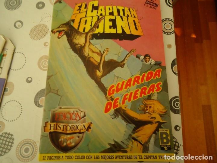 EL CAPITAN TRUENO EDICION HISTORICA Nº 21 GUARIDA DE FIERAS (Tebeos y Comics - Bruguera - Capitán Trueno)