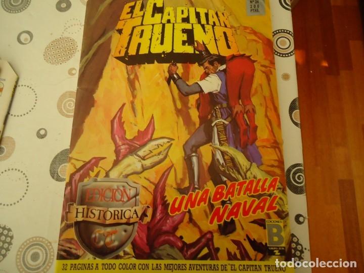 EL CAPITAN TRUENO EDICION HISTORICA Nº 24 UNA BATALLA NAVAL (Tebeos y Comics - Bruguera - Capitán Trueno)
