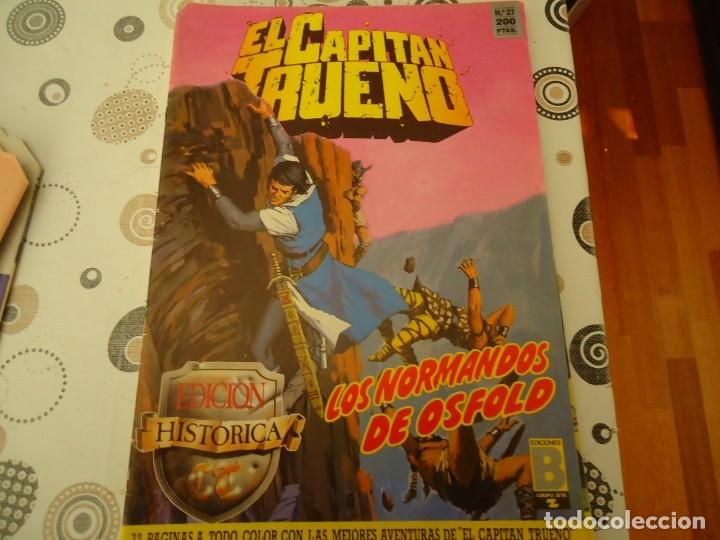 EL CAPITAN TRUENO EDICION HISTORICA Nº 27 LOS NORMANDOS DE OSFOLD (Tebeos y Comics - Bruguera - Capitán Trueno)