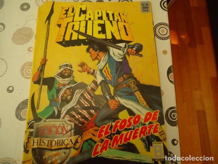 EL CAPITAN TRUENO EDICION HISTORICA Nº 29 EL FOSO DE LA MUERTE (Tebeos y Comics - Bruguera - Capitán Trueno)