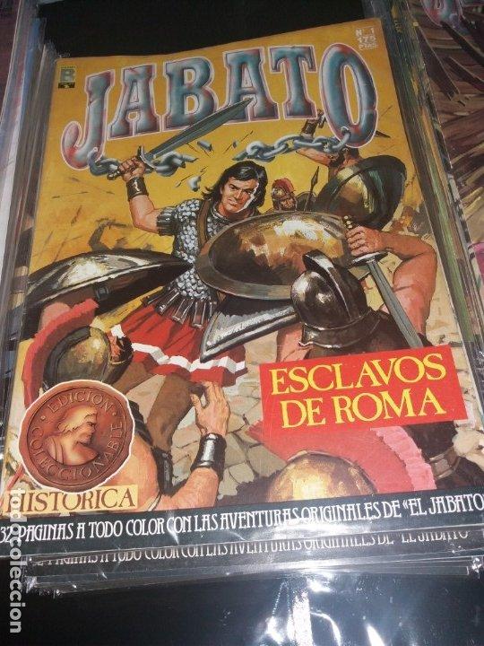 JABATO - EDICION HISTORICA - ED. EDICIONES B, 1987 - COMPLETA, 106 NºS. (IMPECABLE) (Tebeos y Comics - Bruguera - Jabato)