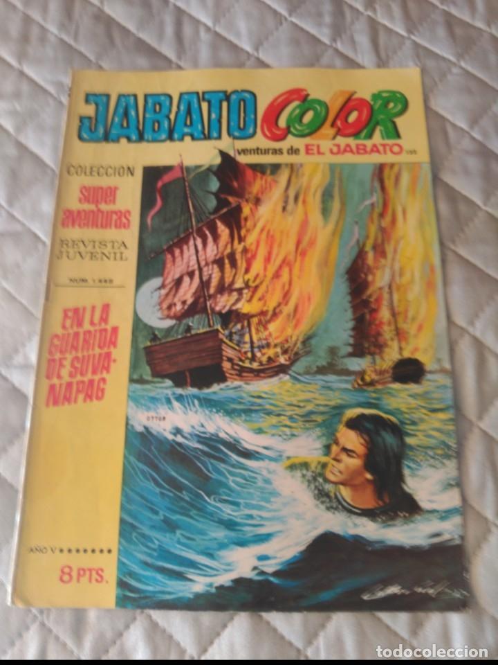 JABATO COLOR Nº 132 PRIMERA ÉPOCA (Tebeos y Comics - Bruguera - Jabato)