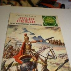 Livros de Banda Desenhada: ENRICO FARINACCI. JULIO CÉSAR. JOYAS LITERARIAS JUVENILES 47 1972 (ESTADO NORMAL). Lote 173934318