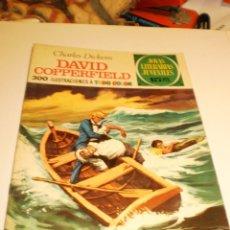 Tebeos: CHARLES DICKEMS. DAVID COPPERFIELD. JOYAS LITERARIAS JUVENILES 8 1970 (ESTADO NORMAL). Lote 173935003