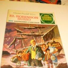 Livros de Banda Desenhada: JOHANN RUDOLF WYSS EL ROBINSON SUIZO JOYAS LITERARIAS JUVENILES 23 1971 (ESTADO NORMAL). Lote 173935312