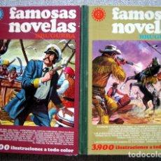 Tebeos: FAMOSAS NOVELAS VOLUMEN XVI - BRUGUERA. PRIMERA EDICIÓN 1979. VOLUMEN VII. SEGUNDA 1979. 2 TOMOS. Lote 54296137