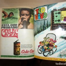 Tebeos: TIO VIVO - TOMO CÓN 20 NÚMEROS - MAS ALMANAQUE PARA 1967 - BRUGUERA -. Lote 173955902