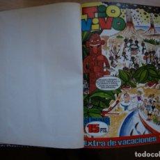 Tebeos: TIO VIVO - TOMO CÓN 20 NÚMEROS - MAS EXTRA DE VACACIONES 1968 - BRUGUERA -. Lote 173956009