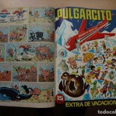 Tebeos: PULGARCITO - TOMO CÓN 20 NÚMEROS - MAS EXTRA DE VACACIONES 1967 - BRUGUERA. Lote 173958469