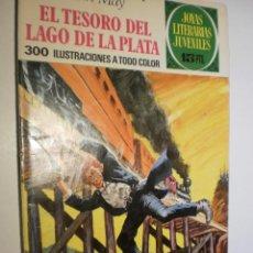 Tebeos: KARL MAY. EL TESORO DEL LAGO DE LA PLATA. JOYAS LITERATIAS JUVENILES Nº 55 1972 (ESTADO NORMAL). Lote 173976294
