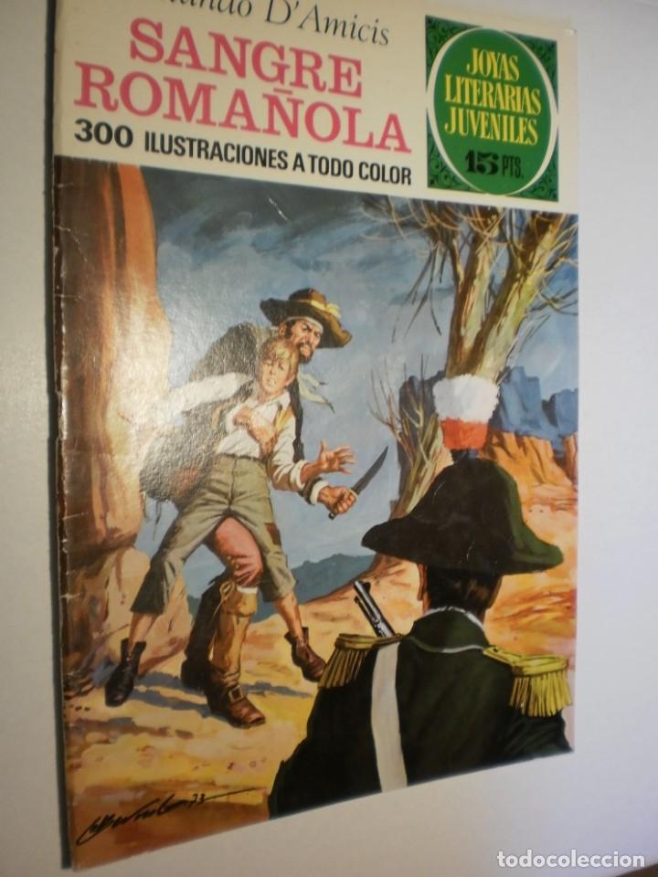 EDMUNDO D'AMICIS. SANGRE ROMAÑOLA JOYAS LITERARIAS JUVENILES Nº 84 1973 (ESTADO NORMAL) (Tebeos y Comics - Bruguera - Joyas Literarias)